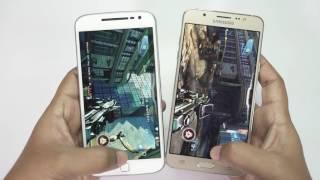 GALAXY On8 vs MOTO G4 Plus : in-depth Comparison, Gaming & Camera Test!