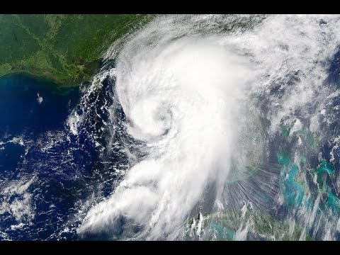 Flying Around Tropical Storm Hermine