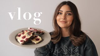 OMG 🤤 Cheesecake Himbeer Brownies YUM! | Weekly Vlog | madametamtam
