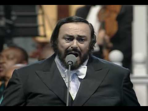 Pavarotti & Clapton Holy Mother For War Child 1996