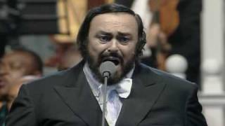 Pavarotti Clapton Holy Mother For War Child 1996