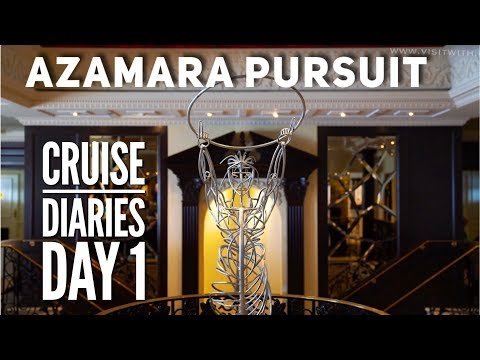 Azamara Pursuit Cruise Diaries vlog Part 1