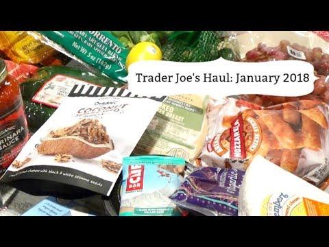 Trader Joe's Haul: January 2018
