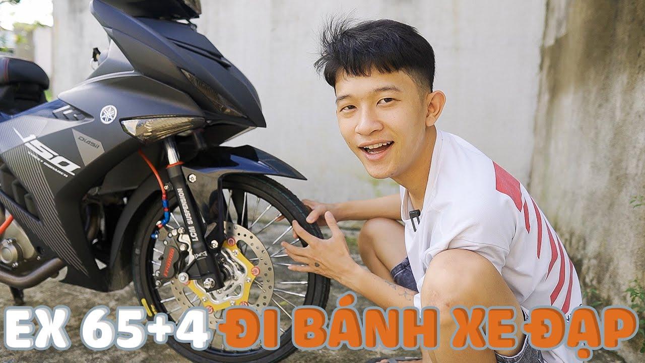 Bán không được, Tú le dọn Ex 65+4 thành style Xe đạp luôn