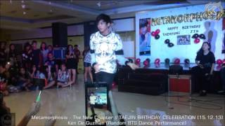 vuclip Ken De Guzman (BTS Random Dance) on Metamorphosis - The New Chapter // TAEJIN BIRTHDAY CELEBRATION