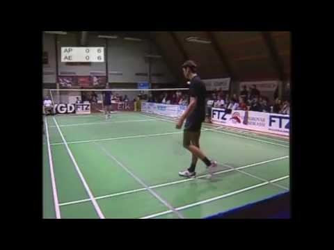FM Badminton 2009 - MS Final Aksel Poulsen v Absalon Eysturoy 1/5