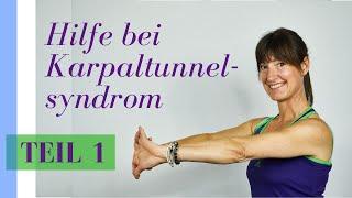 Hilfe beim Karpaltunnelsyndrom - Teil 1 von 4 | Ramona Franke