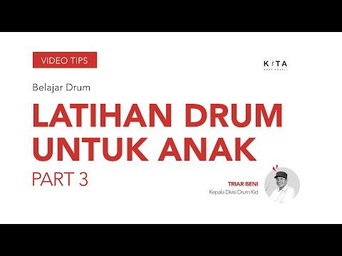 Belajar Drum : Cara Latihan Sederhana - Triar Beni PART 3