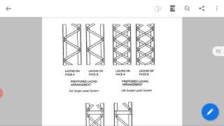 DSS/ 17CV62/MODULE 3/ DESIGN OF COMPERSSION MEMBERS/ Design of lacing/ PART 14