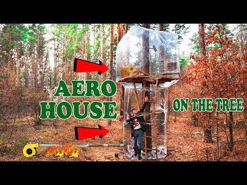 AERO HOUSE ON THE TREE – DIY