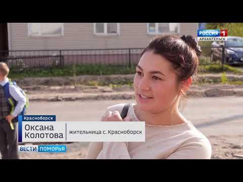 На региональной дороге Усть-Вага — Ядриха в Красноборском районе идут масштабные дорожные работы