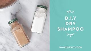 How to Make Natural Dry Shampoo