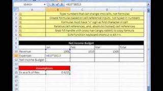 Excel Magic Tricks # 1: Formulas & Cell References