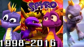 Spyro - ALL INTROS 1998-2016 (PS4-PS1, Wii U, Xbox, GC)