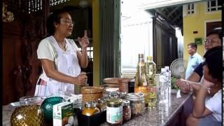 Amita Cooking School, Bangkok Thailand - Pad Thai And Pork Satay