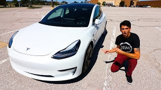 I BOUGHT MY DREAM CAR! (Tesla Model 3)