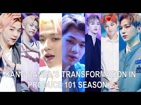 WANNA ONE (워너원) Kang Daniel (강다니엘) Transformation In Produce 101 S2