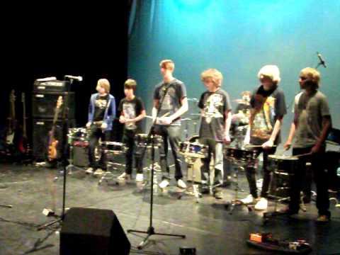 wsrp drum ensemble rehearsal summer 2010