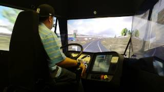 Video The Little Guy Driving The Training Simulator At Prime Inc download MP3, 3GP, MP4, WEBM, AVI, FLV April 2018