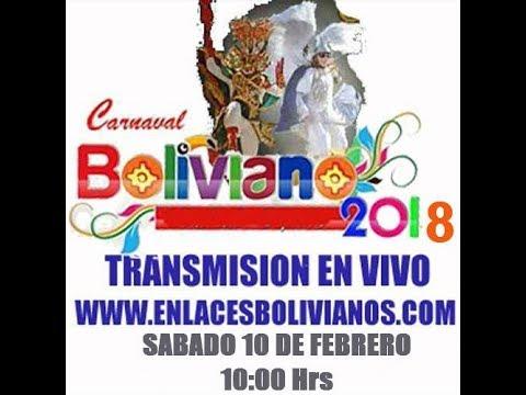 Carnaval Oruro EN VIVO  2018