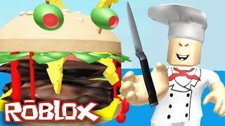 Roblox - Escape the Evil Restaurant Obby - ESCAPE THE EVIL BURGER!