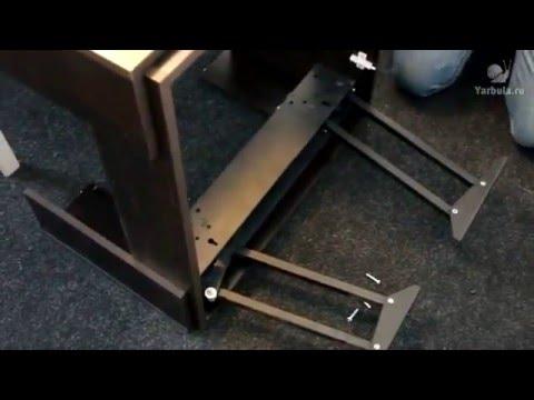 Сборка стола-трансформера грейс св-37 - YouTube