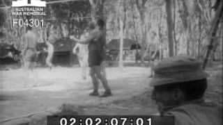 Queensland troops relax in Vietnam DPR/TV/1049