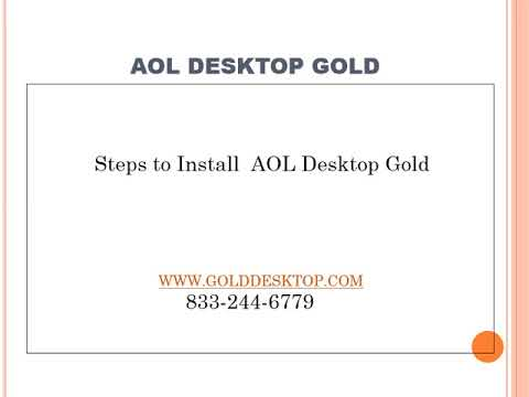 Aol desktop gold phone number