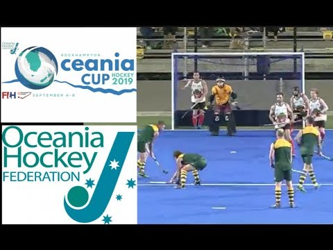 Oceania Cup Mens Hockey 2019.   Australia Legends Men V CQI