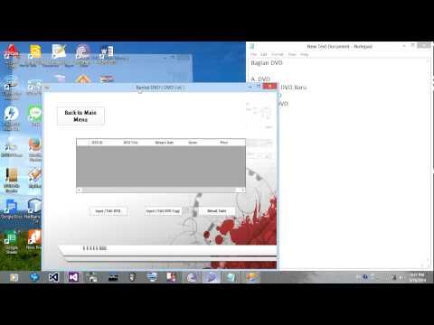 Program Rental DVD Berbasis VB.Net & MySQL
