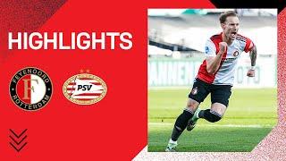 Feyenoord staat op in topper!   Highlights Feyenoord - PSV   Eredivisie 2020-2021