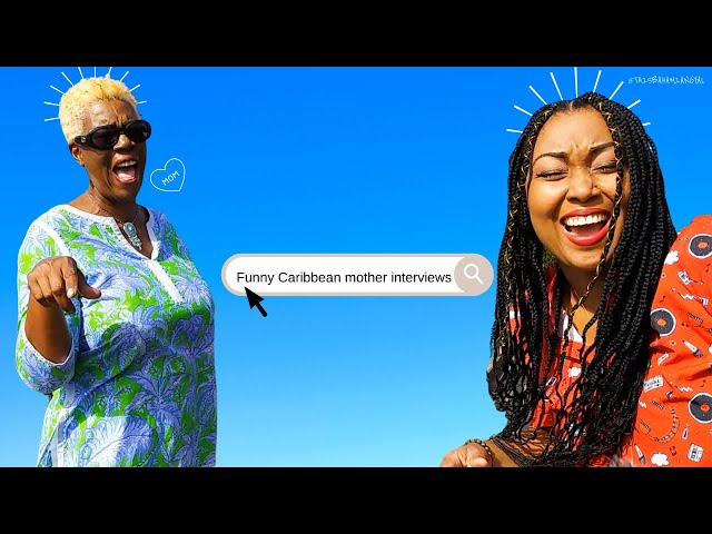Funny Caribbean Mother Interview | Black Caribbean Parent | Meet My Mom | This Bahamian Gyal