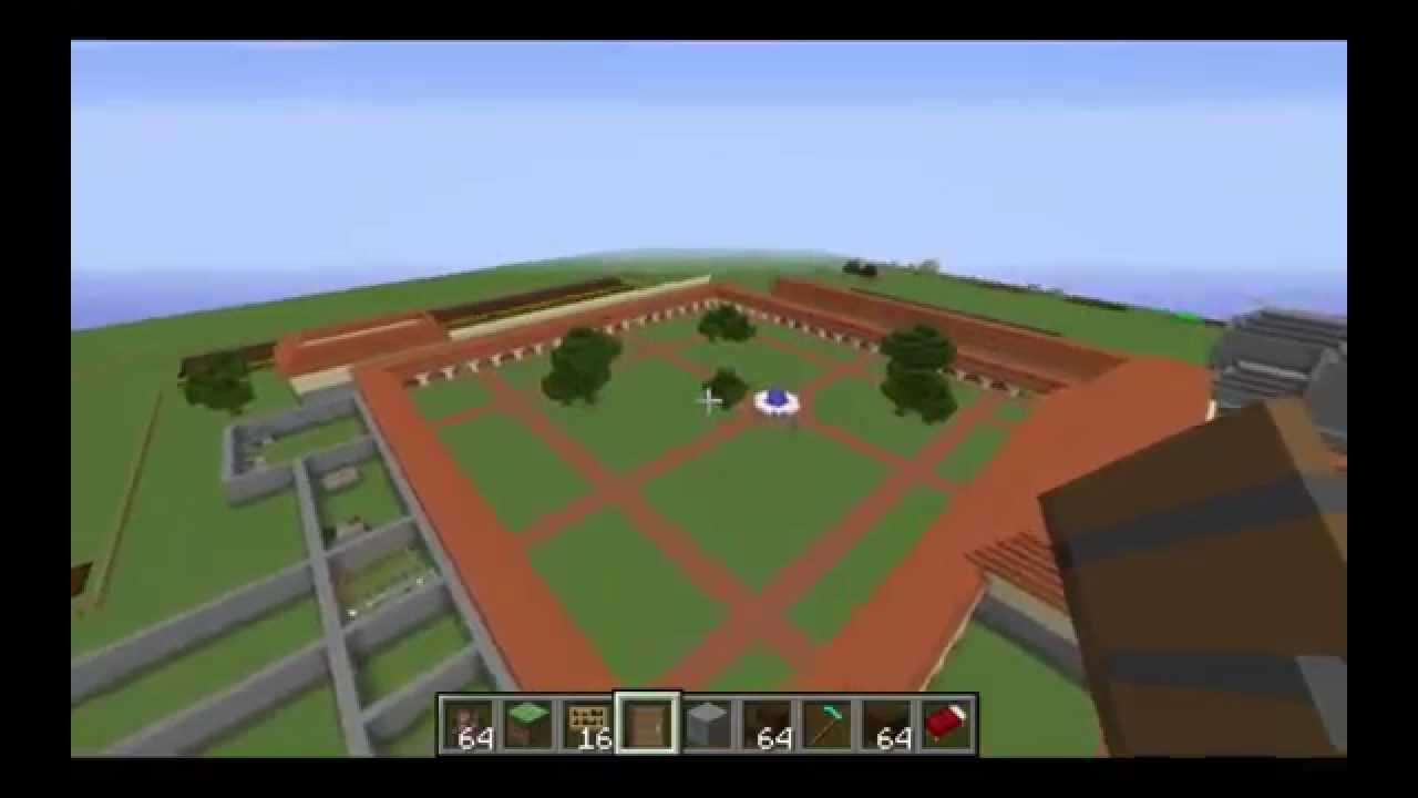 Mission San Juan Capistrano Minecraft Video Tour - YouTube