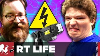 Michael Gets Tased [Warning: Graphic] - RT Life