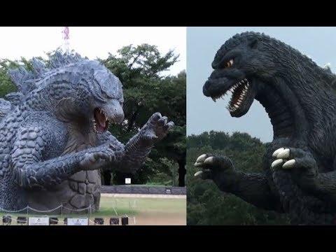 日本版ゴジラVSアメリカ版ゴジラ Japanese Godzilla VS American Godzilla