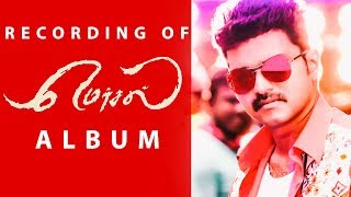 Recording of Mersal Album with AR Rahman | Lyricist Vivek | Vijay | Atlee