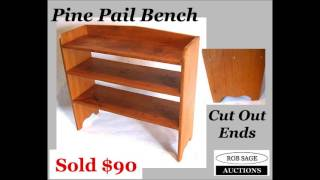 Rob Sage Auctions Jan 19 2013 auction results