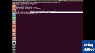 Removing softwares in Ubuntu using terminal in Debian / Ubuntu Operating System