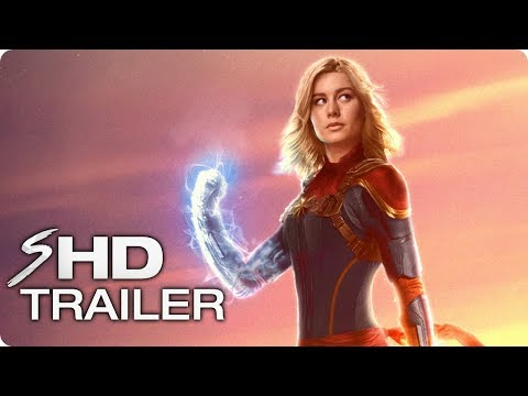 CAPTAIN MARVEL Teaser Trailer Concept (2019) Brie Larson Marvel Movie HD