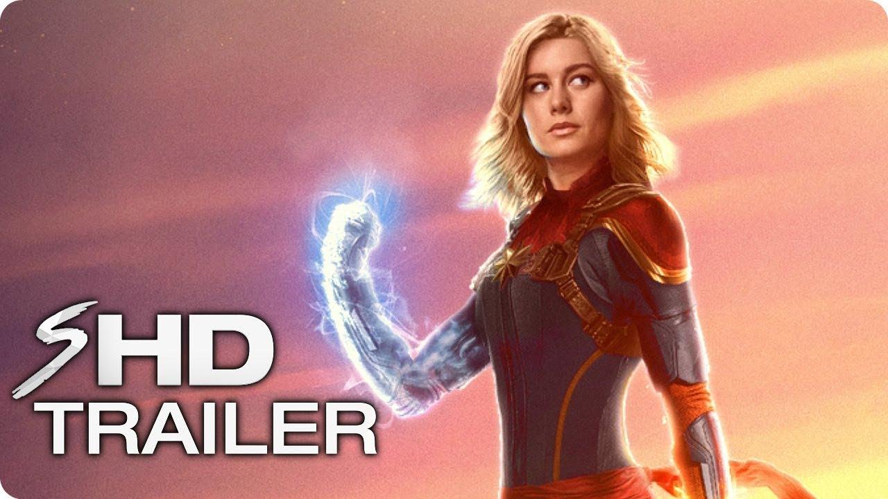 captain marvel teaser trailer concept (2019) brie larson marvel