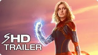 CAPTAIN MARVEL Teaser Trailer Concept (2019) Brie Larson Marvel Movie [HD]