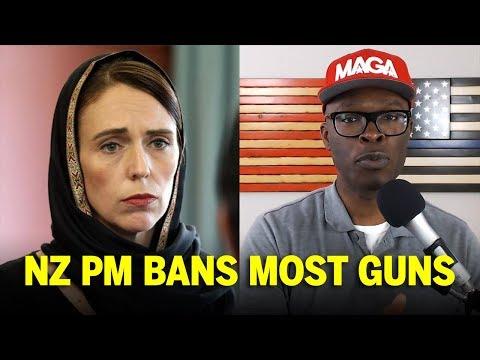 New Zealand PM Bans ALL SEMI AUTOMATIC Guns After Christchurch (REACTION)