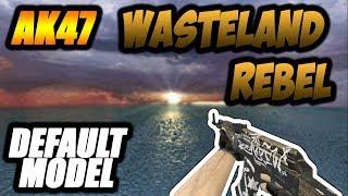 AK47 Wasteland Rebel HD (Default Model)   CS 1.6