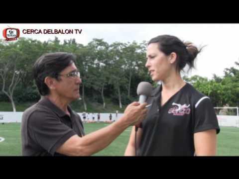 MONICA GONZALEZ ENTREVISTADA EN CERCA DEL BALON TV