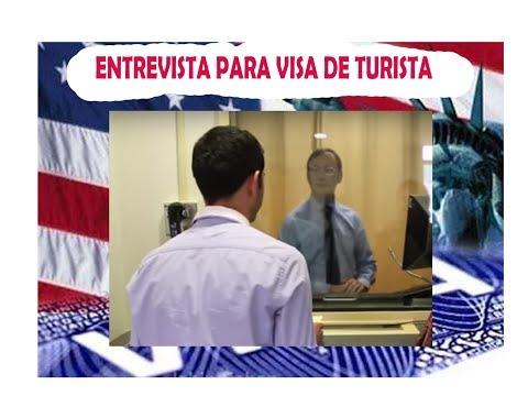 Como es la entrevista para visa Americana