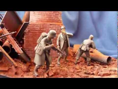"""""""Who´s That?"""" Kuban Bridgehead 1943 Diorama In 1/35 Scale"""