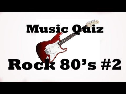 Music Quiz - Rock 80's #2