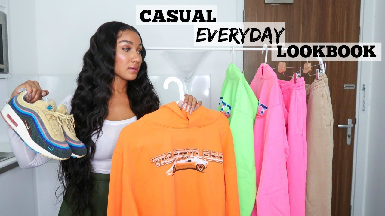[VIDEO] - CASUAL EVERYDAY OUTFITS - TALENTLESS REVIEW | SHERLINA NYM 1