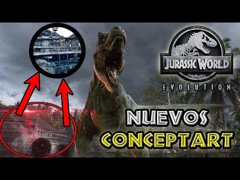 Los Nuevos Concept Art Oficiales De Jurassic World Evolution Revelan Nueva Información!!