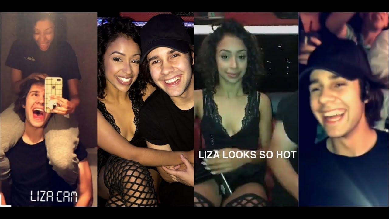 liza koshy birthday David Dobriks 21st birthday snapchat compilation// Las Vegas day 1  liza koshy birthday